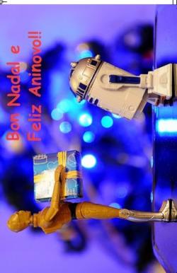 (Postal) Bon Nadal Star Wars