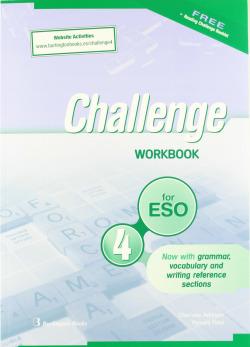 (09).CHALLENGE FOR 4º.ESO (WORKBOOK+READING)